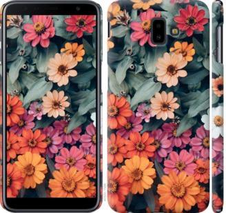 Чехол на Samsung Galaxy J6 Plus 2018 Beauty flowers