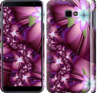 Чехол на Samsung Galaxy J4 Plus 2018 Цветочная мозаика