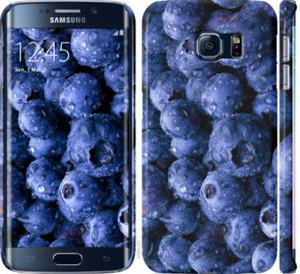 Чехол на Samsung Galaxy S6 Edge G925F Голубика