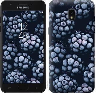 Чехол на Samsung Galaxy J7 2018 Морозная ежевика