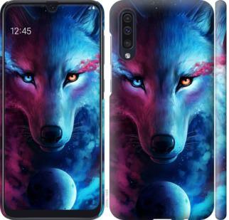 Чехол на Samsung Galaxy A50 2019 A505F Арт-волк