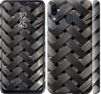 Чехол на Samsung Galaxy M20 Металлические фоны