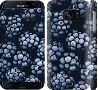 Чехол на Samsung Galaxy S7 G930F Морозная ежевика