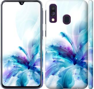 Чехол на Samsung Galaxy A40 2019 A405F цветок