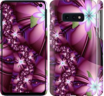 Чехол на Samsung Galaxy S10e Цветочная мозаика