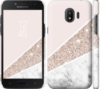 Чехол на Samsung Galaxy J2 2018 Пастельный мрамор