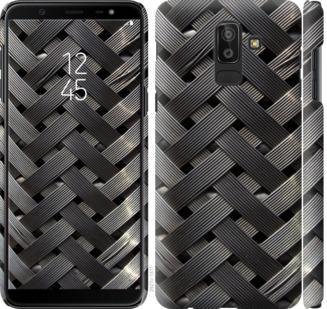 Чехол на Samsung Galaxy J8 2018 Металлические фоны