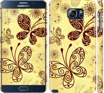 Чехол на Samsung Galaxy Note 5 N920C Красивые бабочки