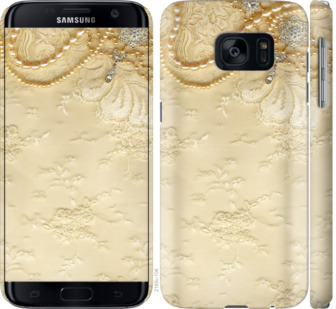 Чехол на Samsung Galaxy S7 G930F Кружевной орнамент