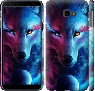 Чехол на Samsung Galaxy J4 Plus 2018 Арт-волк