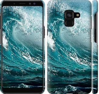 Чехол на Samsung Galaxy A8 2018 A530F Морская волна
