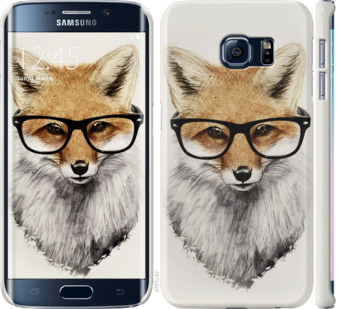 Чехол на Samsung Galaxy S6 Edge G925F Лис в очках