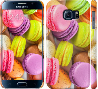 Чехол на Samsung Galaxy S6 G920 Макаруны
