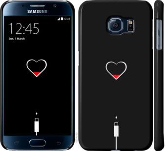 Чехол на Samsung Galaxy S6 G920 Подзарядка