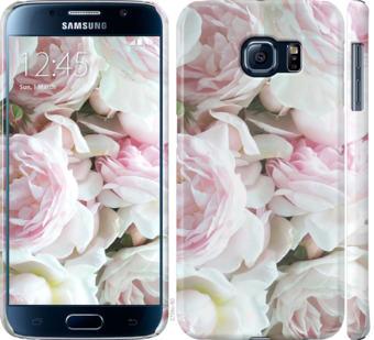 Чехол на Samsung Galaxy S6 G920 Пионы v2