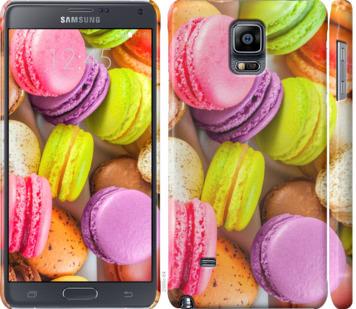 Чехол на Samsung Galaxy Note 4 N910H Макаруны