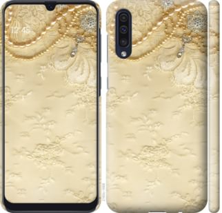 Чехол на Samsung Galaxy A50 2019 A505F Кружевной орнамент