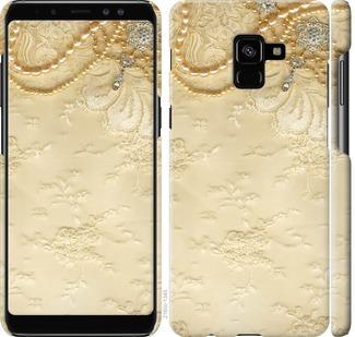 Чехол на Samsung Galaxy A8 Plus 2018 A730F Кружевной орнамент