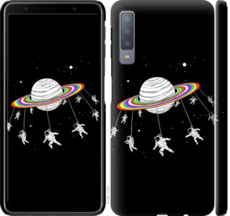 Чехол на Samsung Galaxy A7 (2018) A750F Лунная карусель