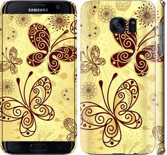 Чехол на Samsung Galaxy S7 Edge G935F Красивые бабочки