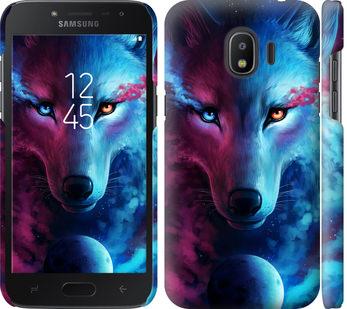 Чехол на Samsung Galaxy J2 2018 Арт-волк