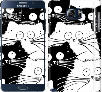 Чехол на Samsung Galaxy Note 5 N920C Коты v2