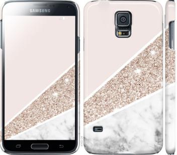 Чехол на Samsung Galaxy S5 g900h Пастельный мрамор