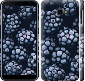 Чехол на Samsung Galaxy J4 Plus 2018 Морозная ежевика