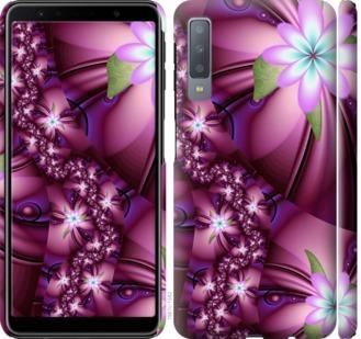 Чехол на Samsung Galaxy A7 (2018) A750F Цветочная мозаика