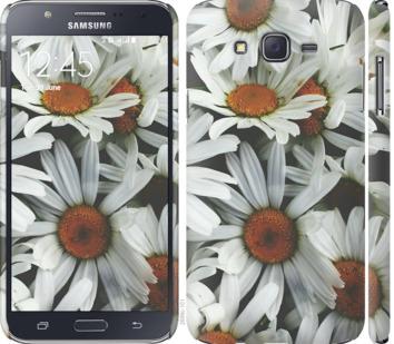 Чехол на Samsung Galaxy J7 J700H Ромашки v2