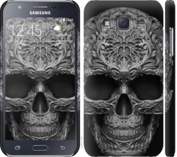 Чехол на Samsung Galaxy J5 (2015) J500H skull-ornament