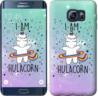 Чехол на Samsung Galaxy S6 Edge Plus G928 Im hulacorn