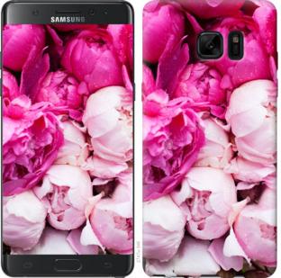 Чехол на Samsung Galaxy Note 7 Duos N930F Розовые пионы