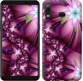 Чехол на Samsung Galaxy A6s Цветочная мозаика