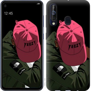 Чехол на Samsung Galaxy A60 2019 A606F logo de yeezy