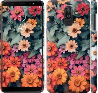 Чехол на Samsung Galaxy J8 2018 Beauty flowers