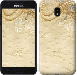 Чехол на Samsung Galaxy J7 2018 Кружевной орнамент