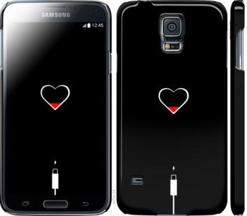 Чехол на Samsung Galaxy S5 g900h Подзарядка