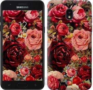Чехол на Samsung Galaxy J7 2018 Цветущие розы