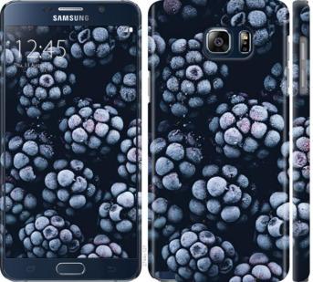 Чехол на Samsung Galaxy Note 5 N920C Морозная ежевика