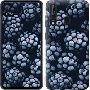 Чехол на Samsung Galaxy A60 2019 A606F Морозная ежевика
