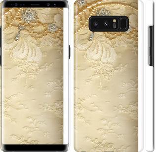 Чехол на Samsung Galaxy Note 8 Кружевной орнамент