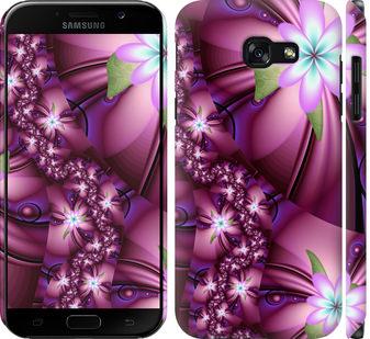 Чехол на Samsung Galaxy A5 (2017) Цветочная мозаика