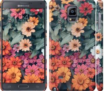 Чехол на Samsung Galaxy Note 4 N910H Beauty flowers