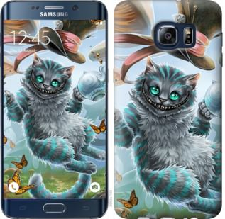 Чехол на Samsung Galaxy S6 Edge Plus G928 Чеширский кот 2