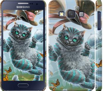 Чехол на Samsung Galaxy A3 A300H Чеширский кот 2