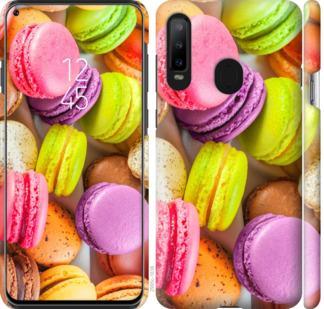 Чехол на Samsung Galaxy A8S Макаруны