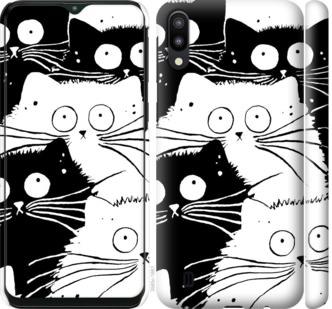 Чехол на Samsung Galaxy M10 Коты v2