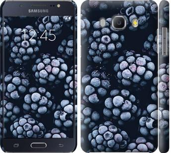 Чехол на Samsung Galaxy J5 (2016) J510H Морозная ежевика