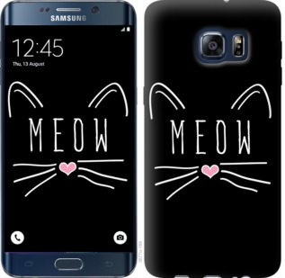 Чехол на Samsung Galaxy S6 Edge Plus G928 Kitty